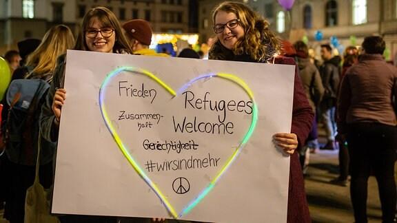 Erfurt leuchtet Demo 08.11.2018