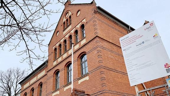 """Buga-Gelände """"Altes Garnissionslazarett"""" in der Nordhäuser-Straße Erfurt wurde immer wieder Ziel von Vandalen"""