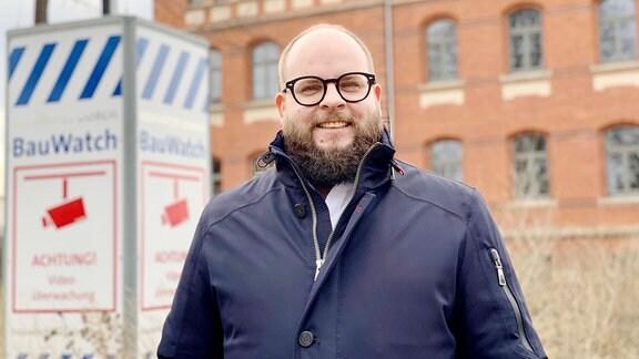 Arne Ott, stellv. Abteilungsleiter Amt für Grundstücks- und Gebäudeverwaltung Infrastrukturelles Gebäudemanagement Stadt Erfurt