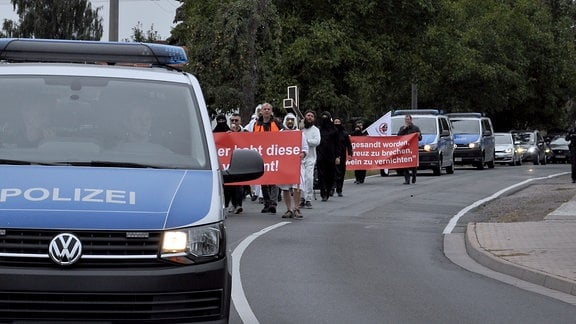 Demonstration in Erfurt