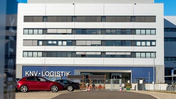 Logistik-Zentrum von KNV in Erfurt