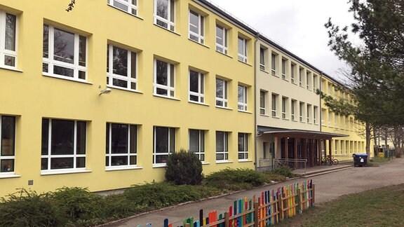 Die Wilhelm-Busch-Schule in Erfurt.