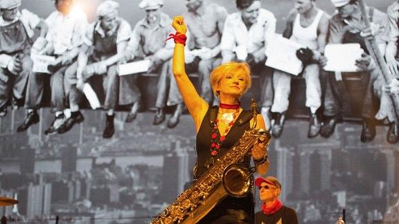 Udo Lindenberg Konzert in der Erfurter Messehalle.