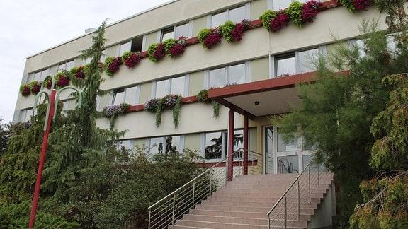 Zierpflanzen-Forschung am Außenstandort Kühnhausen der Fachhochschule Erfurt