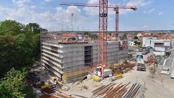 Bau des Museums
