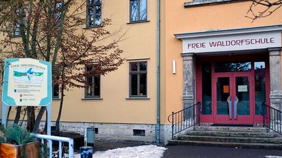 Das Gebäude der Freien Waldorfschule Weimar im Stadtteil Oberweimar.