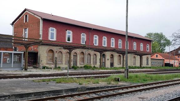 Bahnhof Straußfurt