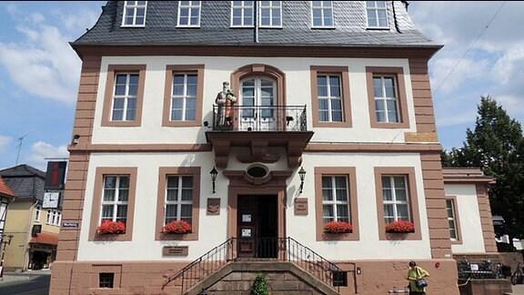 Das Rathaus von Heiligenstadt im Eichsfeld