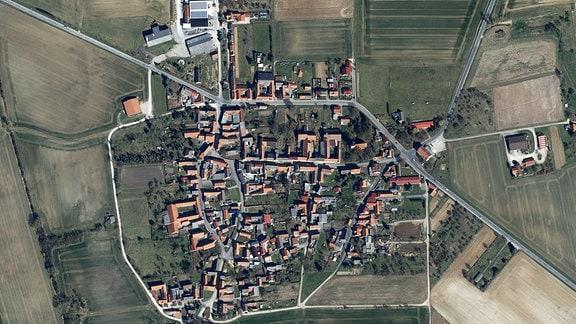 Luftbild vom Toba