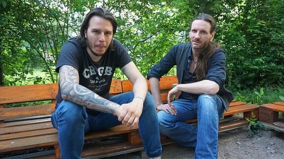Tom Walther und Stephan Janson von Osaka Rising