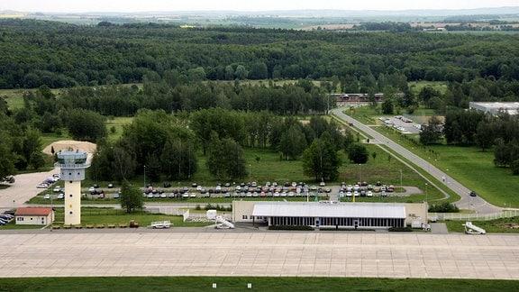Flughafen in Altenburg, 2006