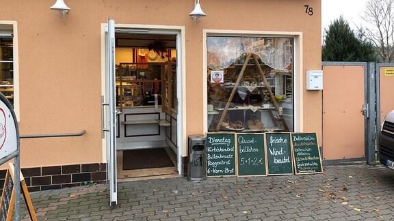 Bäckerei Wolf in Rudolstadt-Volkstedt bei Tag