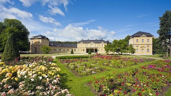Parkanlage, Küchengarten und Orangerie in Gera.