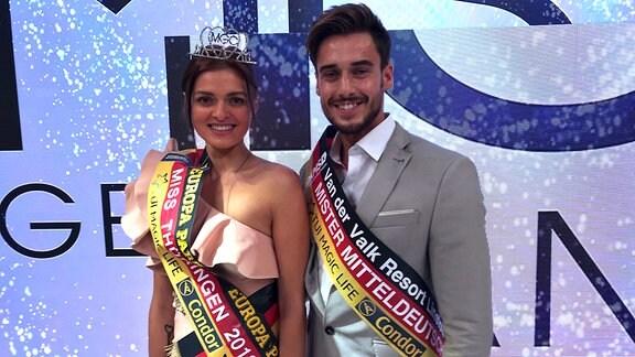 Wahl der Miss Thüringen und des Mister Mitteldeutschland in Jena