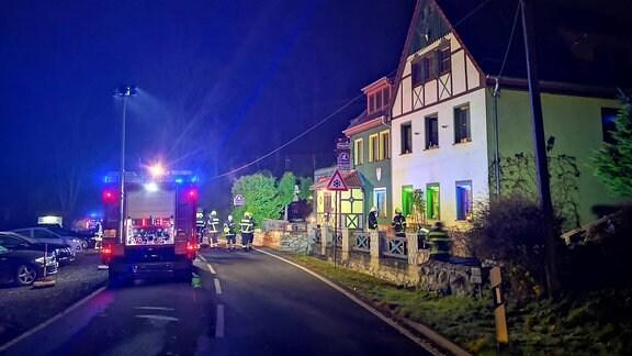 In einem Swingerclub in Neumühle im Saale-Orla-Kreis ist ein Brand ausgebrochen