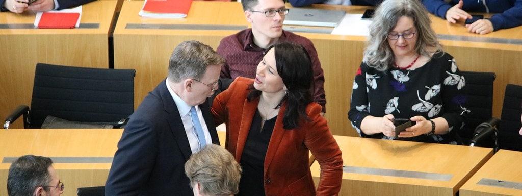 Wahl In Thuringen Ramelow Im Dritten Wahlgang Alleiniger Kandidat