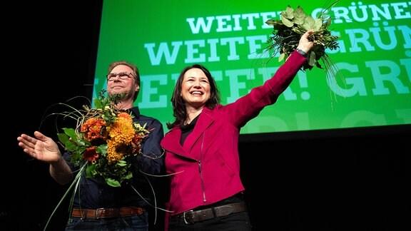 Anja Siegesmund und Dirk Adams