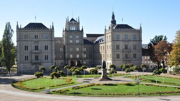 Das Schloss Ehrenburg in Coburg.