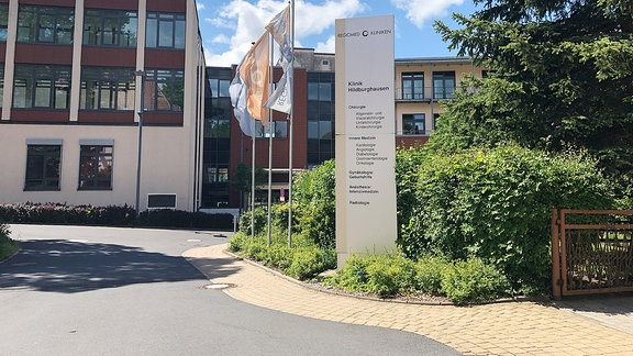 Die Regiomed-Klinik in Hildburghausen