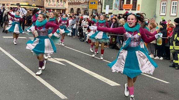 Karnevalsumzug in Wasungen