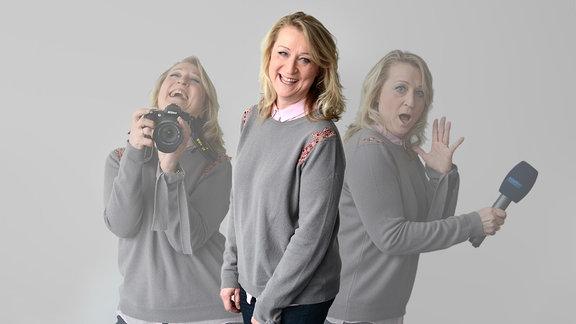 MDR THÜRINGEN-Reporterin Antje Kirsten