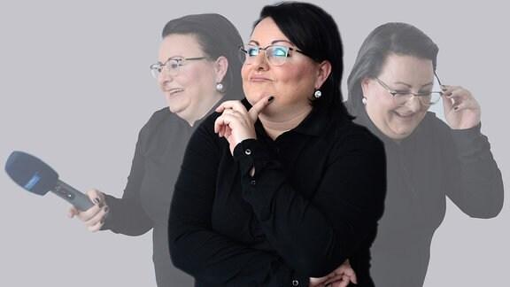 MDR THÜRINGEN-Reporterin Mirjam Winzer