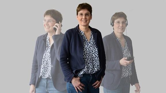 MDR THÜRINGEN-Reporterin Ruth Breer