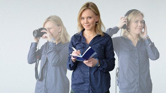 MDR THÜRINGEN-Reporterin Samira Wischerhoff