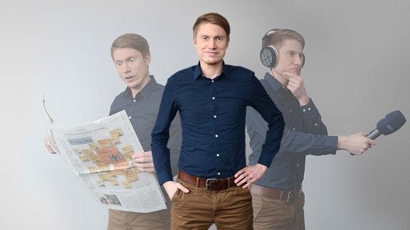 MDR THÜRINGEN-Reporter Tino Geist