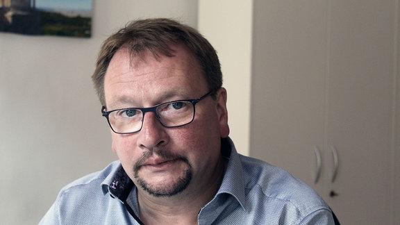 Der parteilose Weimarer Stadtrat Wolfram Wiese.