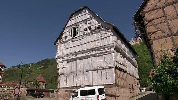 Der hessische Hof in Treffurt ist vom Verfall bedroht