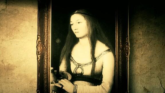 """""""Heilige Katherina"""" von Hans Holbein dem Älteren von 1509/1510."""