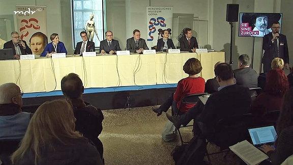 Pressekonferenz in Gotha