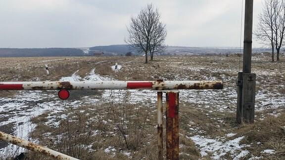 Das Gebiet um den Truppenübungsplatz in Ohrdruf