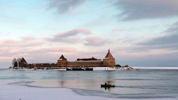 Ladogasee - ein russischer Wintertraum