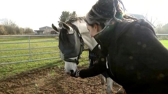Blindes Pferd