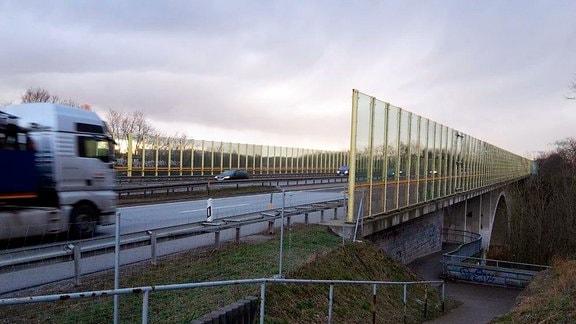 Spreetalbrücke Bautzen, A4 von Dresden nach Görlitz