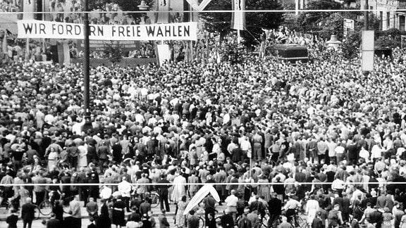 17. Juni 1953, Volksaufstand in der DDR