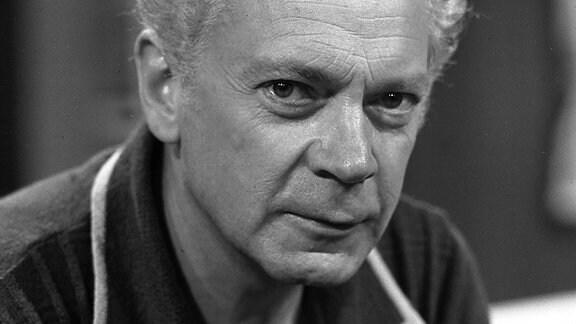 Rolf Herricht- DDR-Schauspieler (1980)