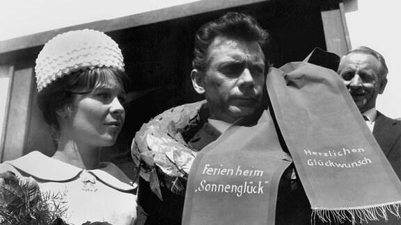 Ralf Horricht (Rolf Herricht), Susanne Horricht (Marita Böhme).