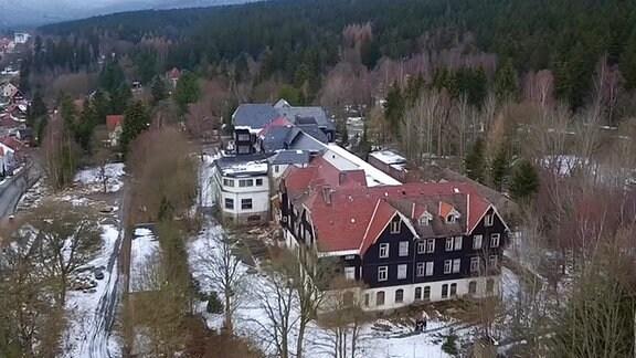 Das Heine-Hotel in Schierke