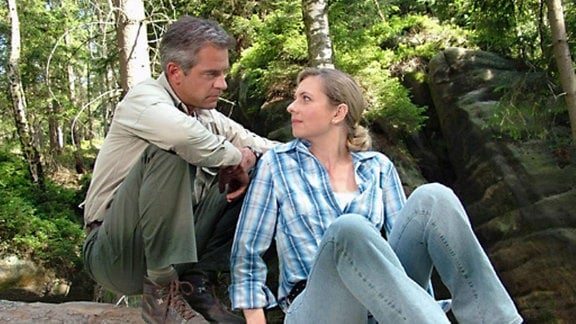 Mark (Florian Fitz) und Claudia (Susanne Michel).