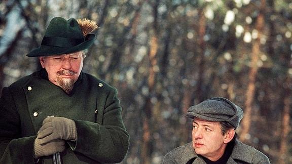 Förster (Kurt Böwe), Arndt (Rolf Ludwig)