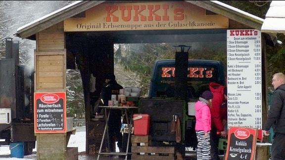 Imbiss von Jürgen Kurkiewicz - genannt Kukki