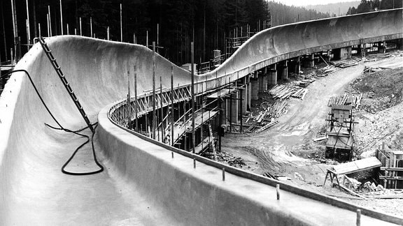 Formel 1 im Eiskanal - Die Geschichte der Bobbahn Altenberg