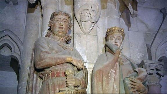 Stifterfiguren Ekkehard und Uta des Naumburger Meisters