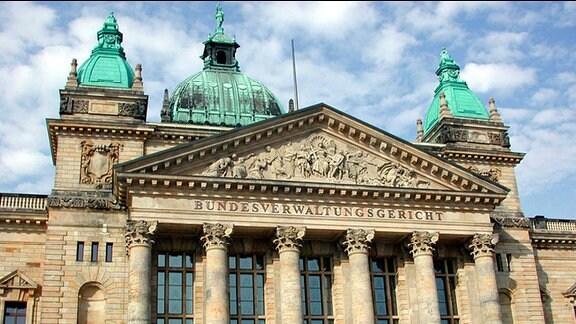 Das Bundesverwaltungsgericht in Leipzig.
