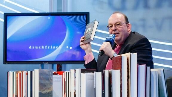 Denis Scheck präsentiert: Best of 'Druckfrisch' auf der Leipziger Buchmesse