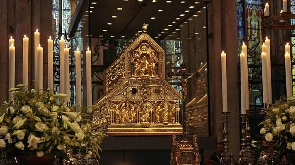 Dreikönigenschrein im Kölner Dom