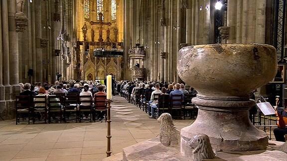 Evangelischer Gottesdienst aus dem Dom zu Halberstadt